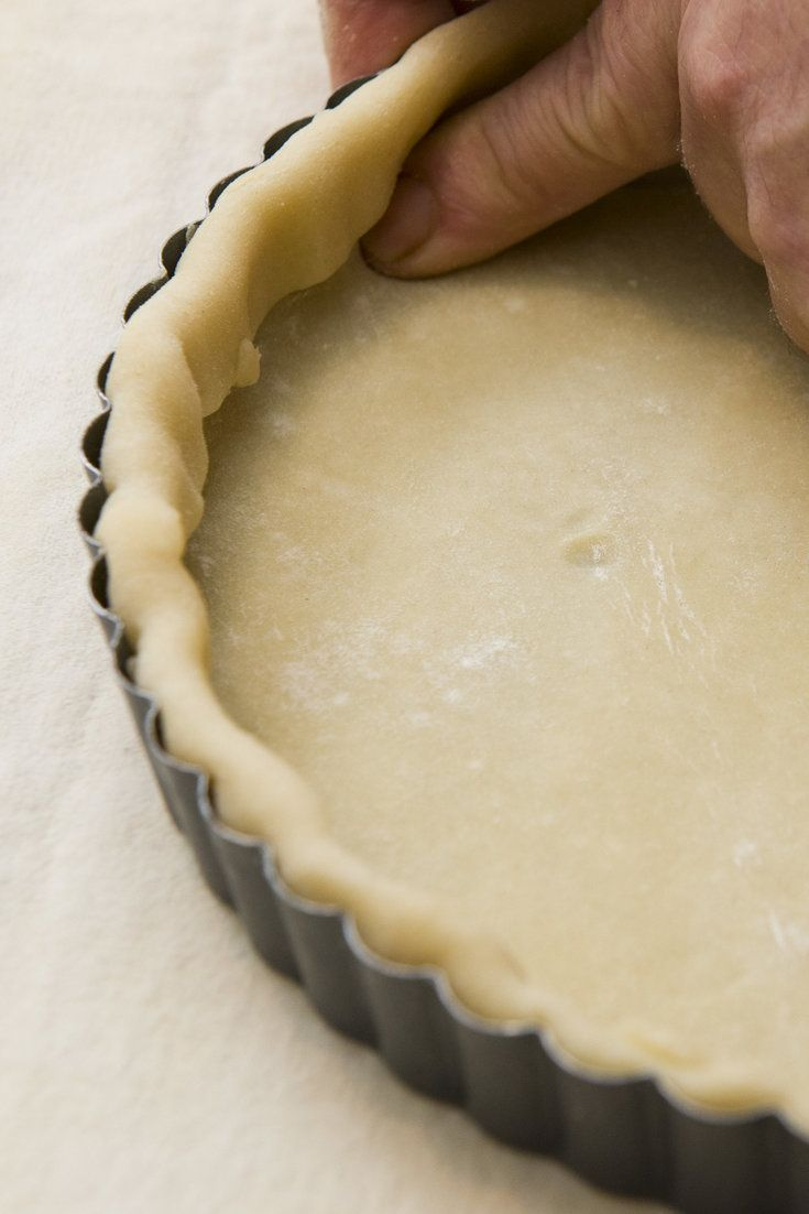 Regarding this basic short-crust pastry: the dough takes just 10 minutes to make, so resist the temptation to buy that pre-made crust from the refrigerator case Homemade pastry always tastes better Make it the day before