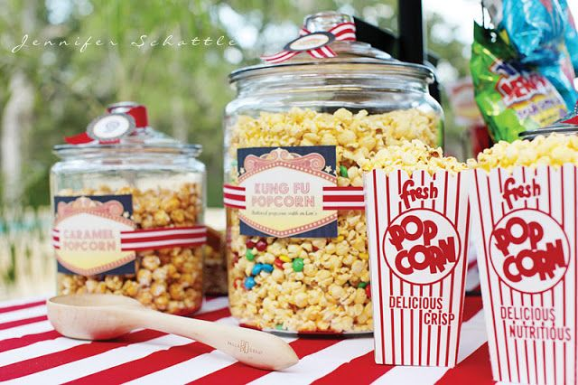 Night at the Movies Birthday Party - Kara's Party Ideas - The Place for All Things Party: Party'S, Movie Parties, Night Parties, Movies, Movie Birthday Parties, Parties Ideas, Movie Nights, Party Ideas, Movie Theme
