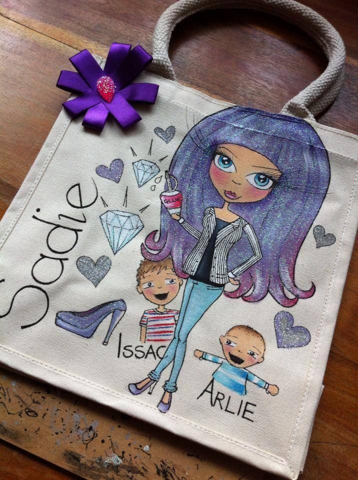 Statement Clutch - Purple & Blue Doodles by VIDA VIDA CIfR9LEIP