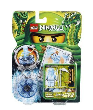 LEGO Ninjago NRG Zane 9590 by LEGO. $20.75. pin NRG Zane on the ice transparent spinner!. pin to victory against the snakes with 4 battle cards and NRG Zane, armed with the transparent ice spinner and a golden weapon!. Collect all of the LEGO Ninjago spinners and characters for endless Spinjitzu fun!. Battle with your friends!. Power up your Spinjitzu battles with NRG Zane!. From the Manufacturer                Spin your way to victory! NRG Zane has transformed into pure ice en...