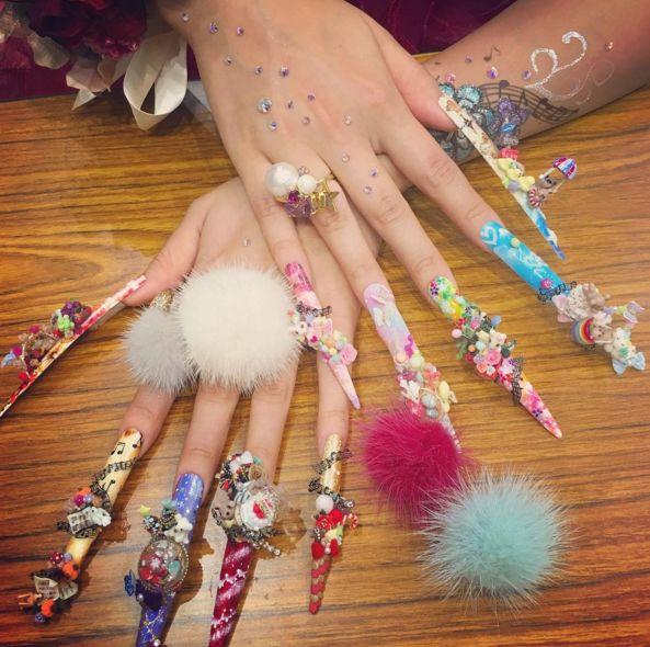 Exotic Nail Designs