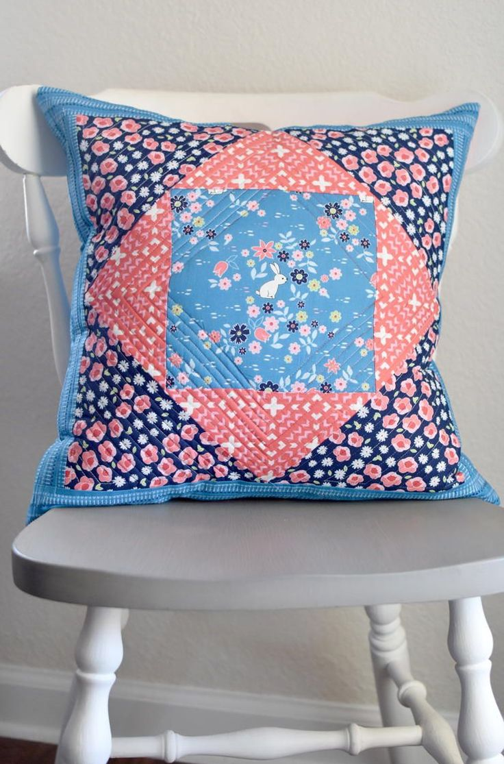 Giant Economy Block Pillow & 65 best Quilted Pillows images on Pinterest | Quilted pillow ... pillowsntoast.com