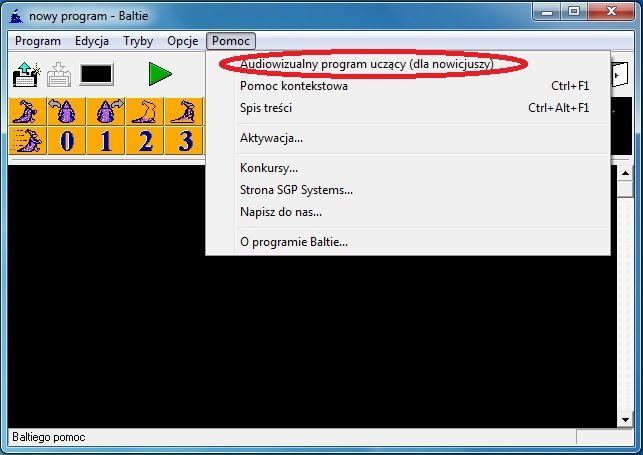 Programowania można uczyć już w szkole podstawowej od klasy czwartej, wykorzystując świetny program Baltie 3.  Baltie 3 to pierwszy, graficzny język programowania, w którym program tworzy się, przeciągając ikony.