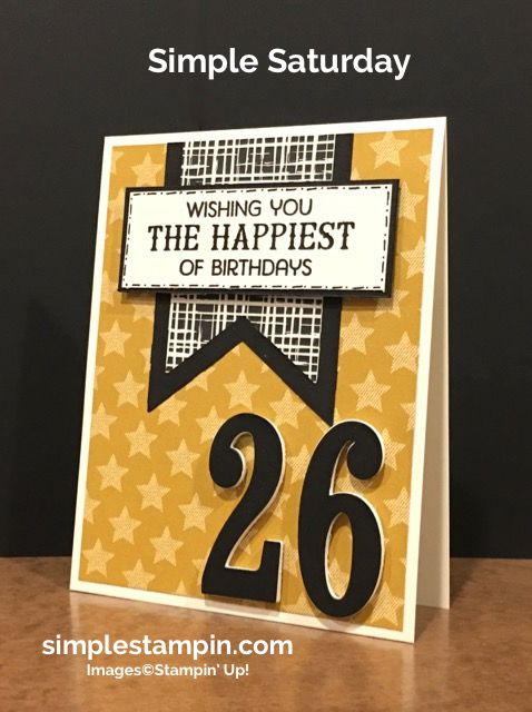 stampin-up-birthday-card-birthday-fiesta-photopolymer-banner-framelits-large-number-framelits-susan-itell-simple-saturday-simplestampin                                                                                                                                                                                 More
