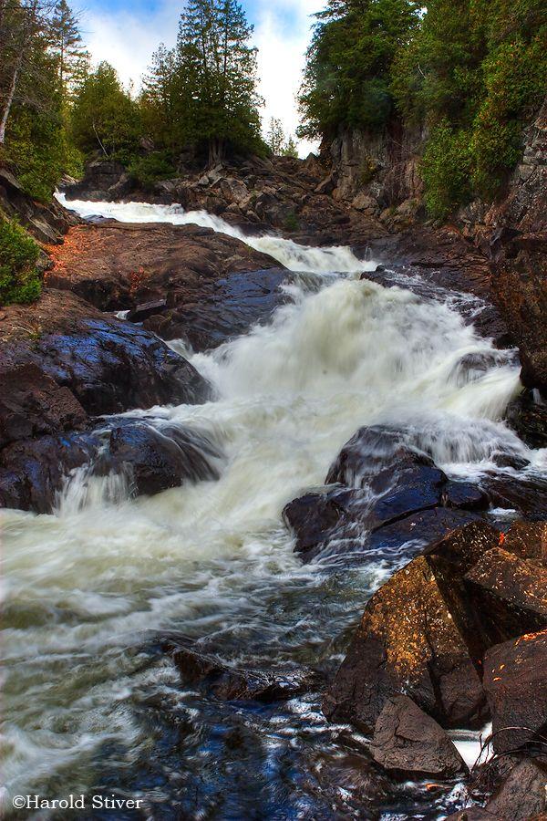 Ragged Falls Provincial Park, Ontario More