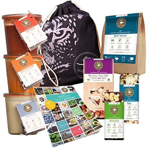 Paleo Lifestyle Box von eat Performance (bio, Gesundes Abnehmen, Diät Starter-Kit, Geschenk-Set, glutenfrei, laktosefrei, superfood, Suppe)