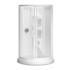 corner shower kits peerless shower for the home lowes 10401
