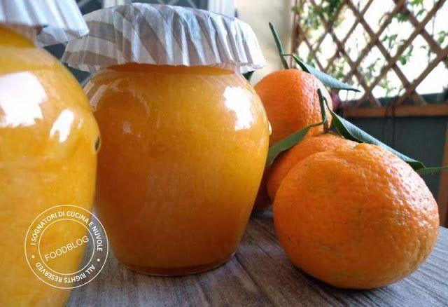 {Mandarin Orange Jam} I sognatori di Cucina e nuvole: MARMELLATA DI MANDARINI