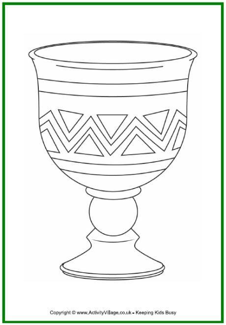 kwanzaa colouring page unity cup colouring page kikombe cha umoja