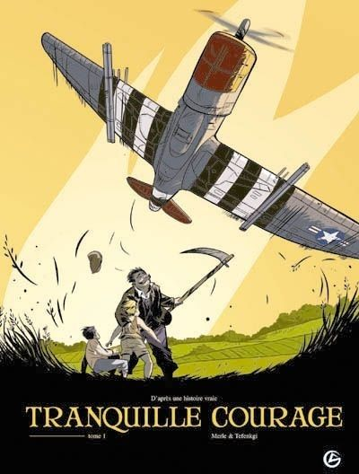 Lors des combats qui ont suivi le débarquement en Normandie, un P-47 Thunderbolt de l'US Air Force est abattu par la DCA allemande. Son pilote, Weston Lennox, saute en parachute avant le crash. Il est recueilli et caché par Auguste, un fermier sans histoire. Une amitié naît entre les deux hommes. Tome 1 à 3 disponibles à la BU des Collines