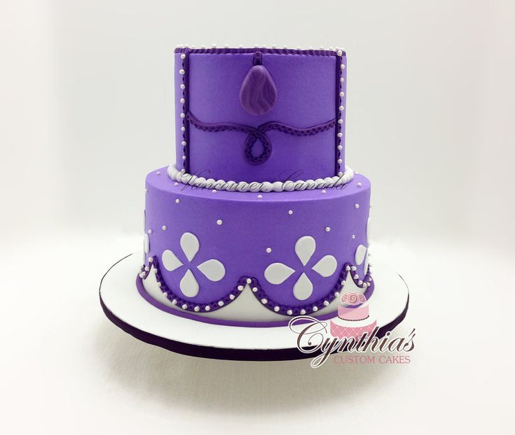 Pictures Of Princess Sofia Cake : Princess Sofia Cakes & Cake Decorating ~ Daily ...