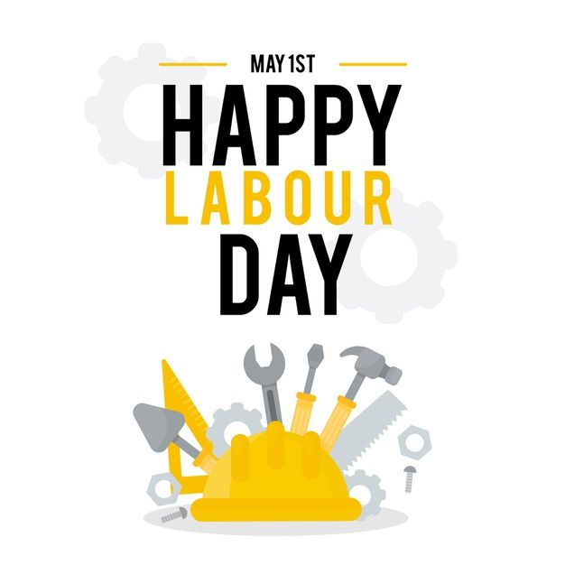 Download Flat Design Labor Day Concept For Free In 2021 Creative Flyer Design Happy Labor Day 1st May Labour Day