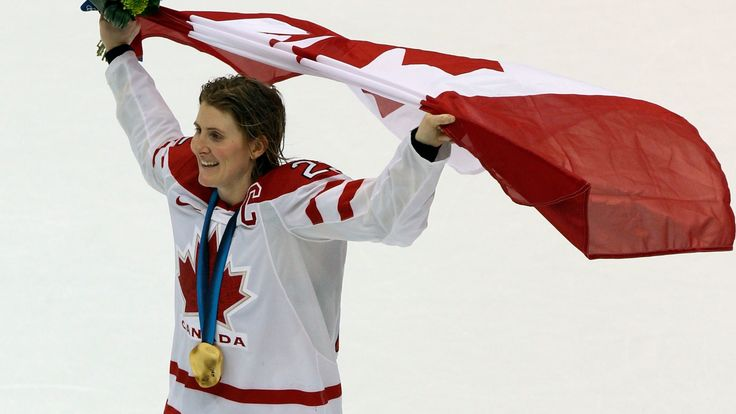 Hayley Wickenheiser one of Canada's most successful Olympians