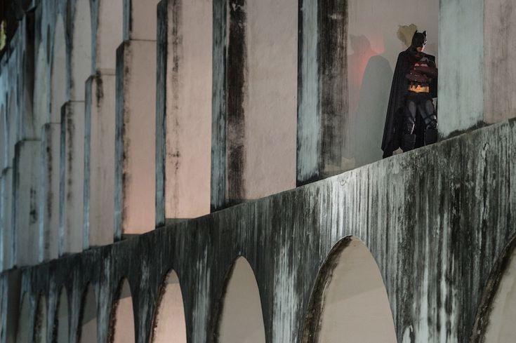 Rio de Janeiro, Brasile - Batman. Protesta silenziosa. (YASUYOSHI+CHIBA/AFP/Getty+Images)