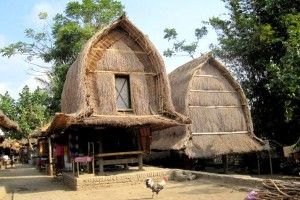 Traditional House of Sasak Tribe