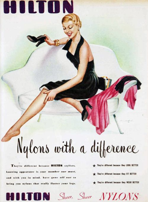 Hilton - nylons with a difference!