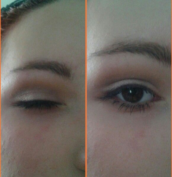 Soft cut crease makeup