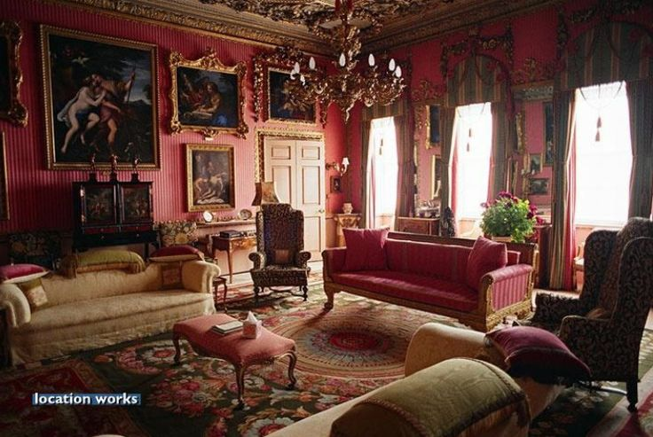 Red Drawing Room Burghley House Historic Interiors