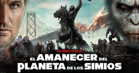 SORTEO MERCHAN EL AMANECER DEL PLANETA DE LOS SIMIOS