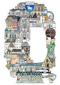 Best #Travel #Ilustration #World #Illustrated #Maps #42