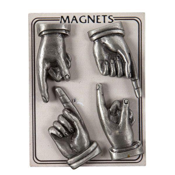 Vintage Finger Magnet Set