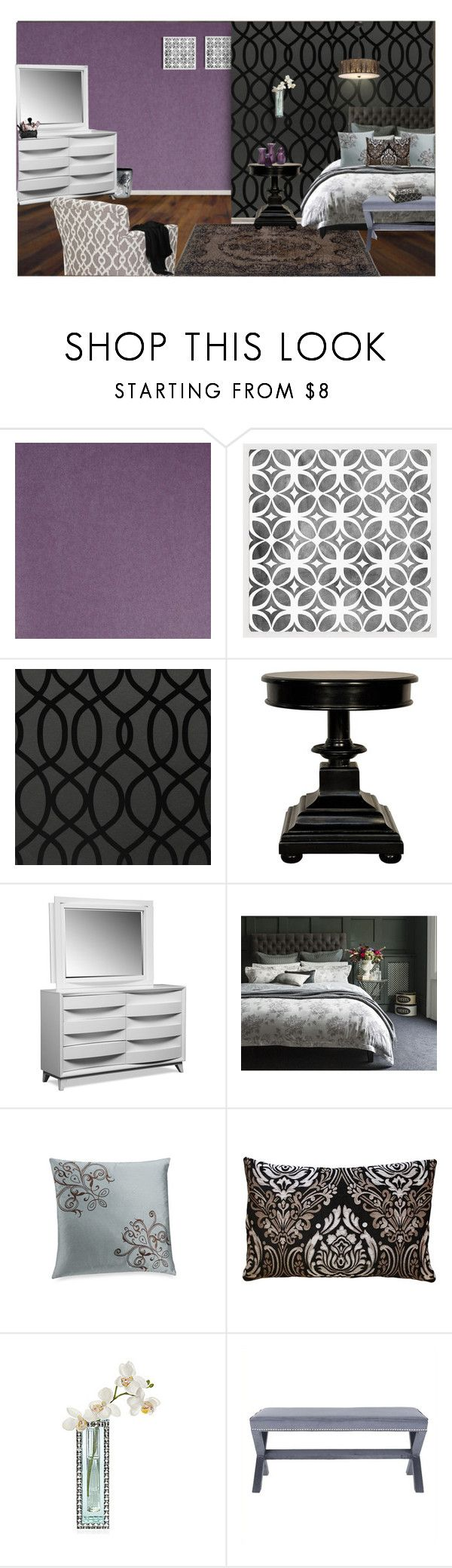"""""""2nd home set"""" by sassiesavy ❤ liked on Polyvore featuring interior, interiors, interior design, home, home decor, interior decorating, Pottery Barn, Graham & Brown, Noir and Christy"""