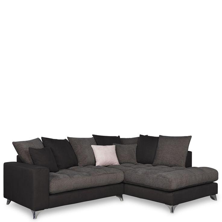 Wohnlandschaft - Sofa - Corfu rechts Micorvelours anthrazit Jetzt bestellen unter: https://moebel.ladendirekt.de/wohnzimmer/sofas/wohnlandschaften/?uid=987da630-03b5-52d4-8f0b-bf0c3a71fb1d&utm_source=pinterest&utm_medium=pin&utm_campaign=boards #sofa #dorm #wohnl #schaften #günstig #sofas #kaufen #schaft #polstermöbel #schlafsofa #online #ecksofa #wohnzimmer