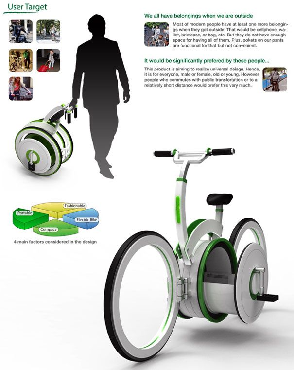 A bike to carry items and ride!