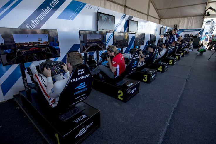 La #FórmulaE impulsa la experiencia de carreras virtuales con los simuladores Playseat®