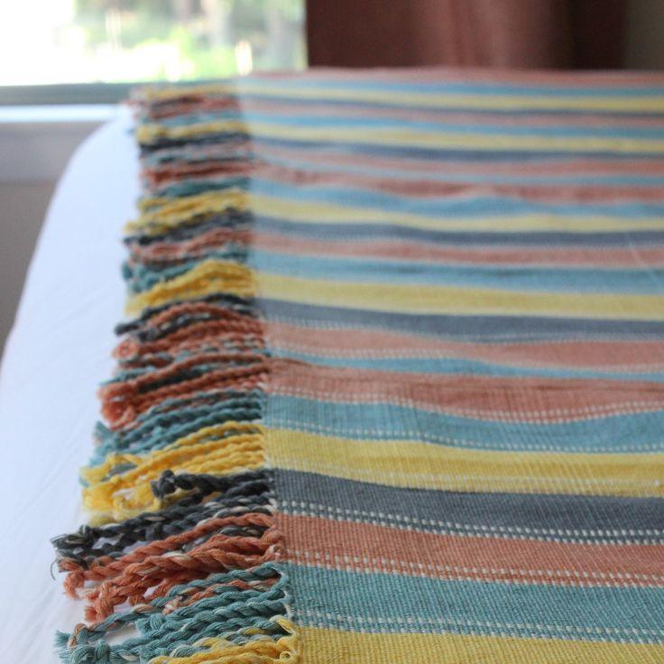 JUANA - Handwoven Natural Dye Blanket  $225.00  – Living Threads Co. livingthreadsco.com