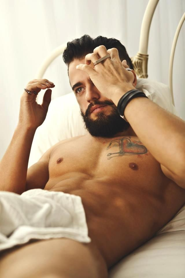 #tattoo #beard #sexy This Pin was discovered by Nadia X-Ray. Discover (and save!) your own Pins on Pinterest. Yes please