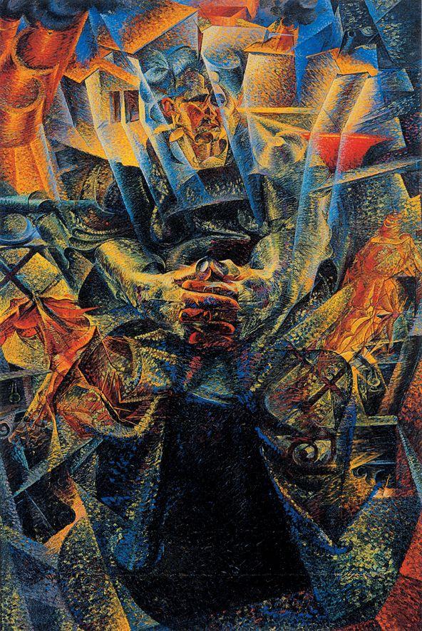 Boccioni Futurism 155 best images about ...