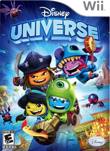 Download Disney Universe Wii iso
