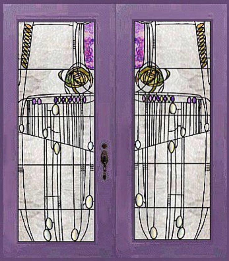 doors to the salon de luxe willow tea rooms sauchiehall st glasgow - Salon De Luxe