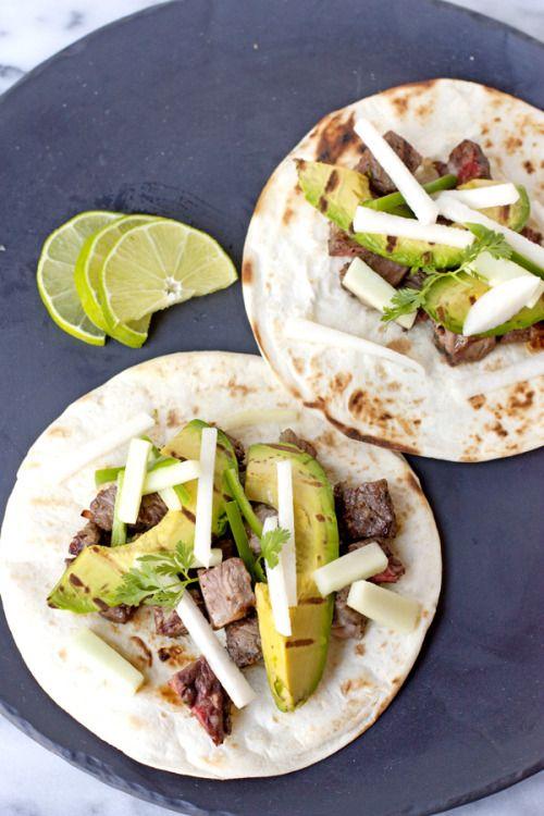 Super Foods — (Via: fattributes.tumblr.com) Steak Tacos with...