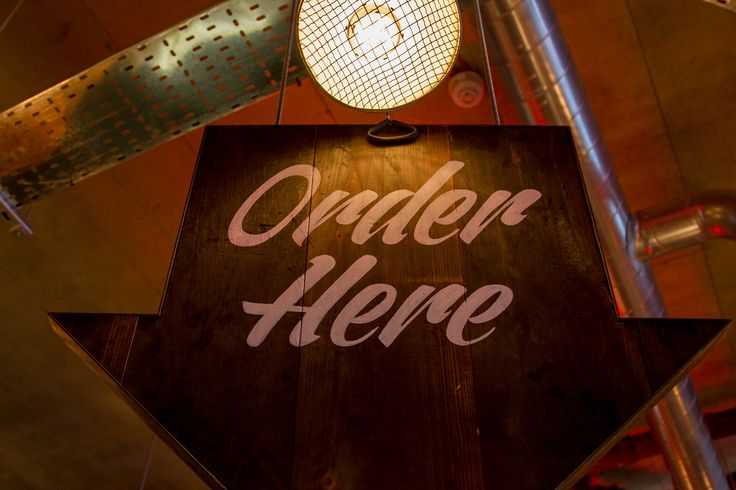 Grillstock - Restaurant hand-painted signage #signwriting