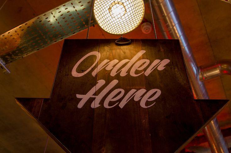 Grillstock - Restaurant signage #signwriting #handpainted