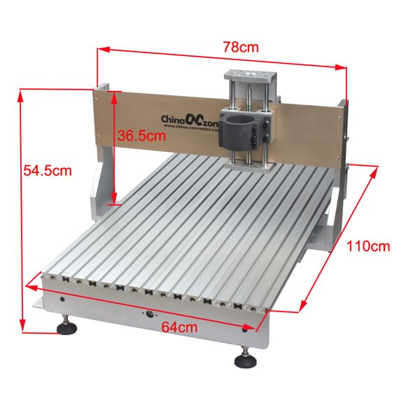 Cnc 6090 Frame By Chinacnczone In 2020 Cnc Router Machine Cnc Router Router Machine
