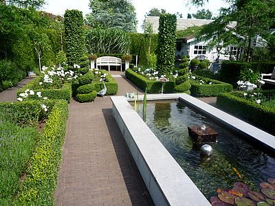 Aanleggen kleine tuin, stadstuin door tuinaanlegger: mooiste tuin van Vlaanderen - zilveren medaille
