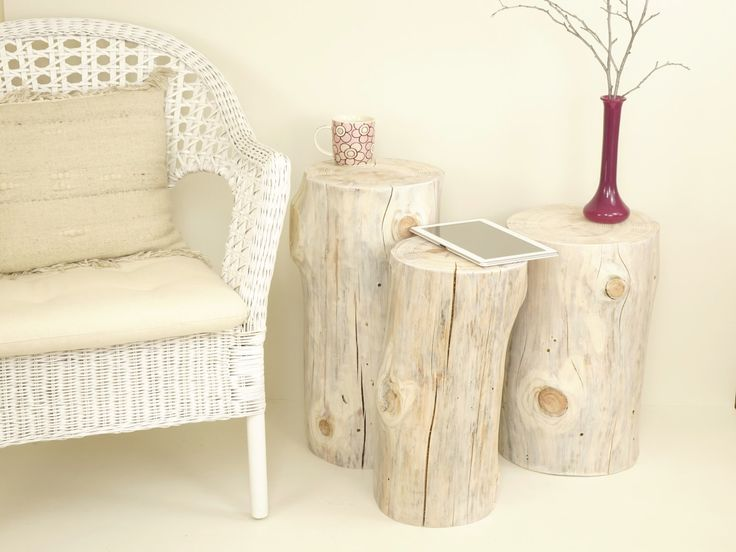 15 must see tree stump table pins stump table tree stumps and tree trunk table. Black Bedroom Furniture Sets. Home Design Ideas