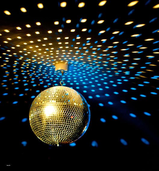Disco ball and party lights for hire. Fluros, flashing colours, strobe, white lights and more. Alan Casey Entertainment Agency Australia