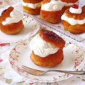 Romanian Savarin Cake {recipe in Romanian}