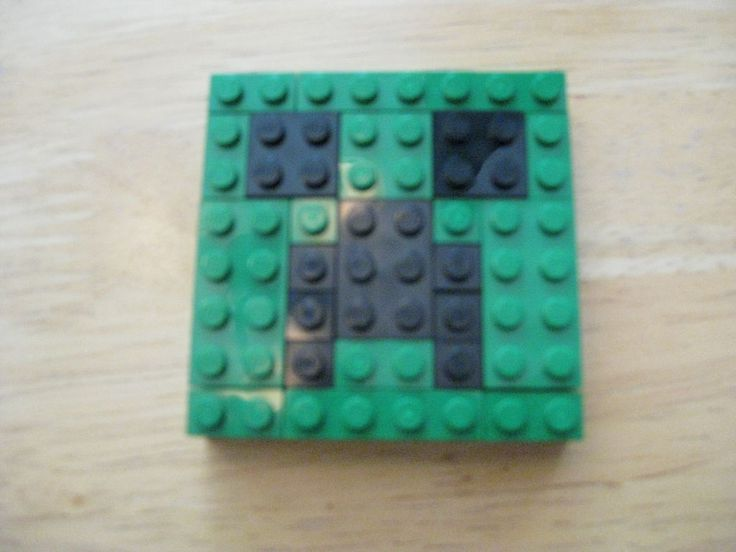 Minecraft Creeper LEGO Instructable
