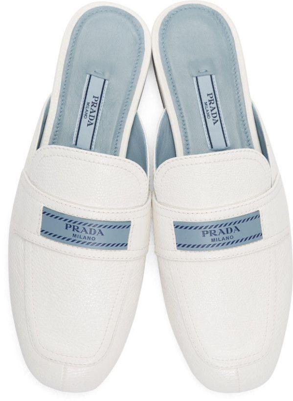 69e290cc0ff Prada - White  Prada Tag  Slippers