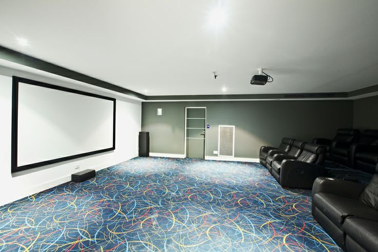 Cinema in Luxury Holiday Home