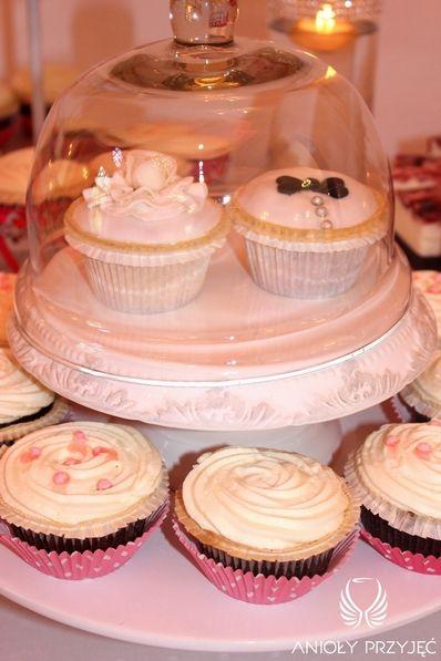 19. Pink Wedding,Sweet table / Różowe wesele,Słodki stół,Anioły Przyjęć