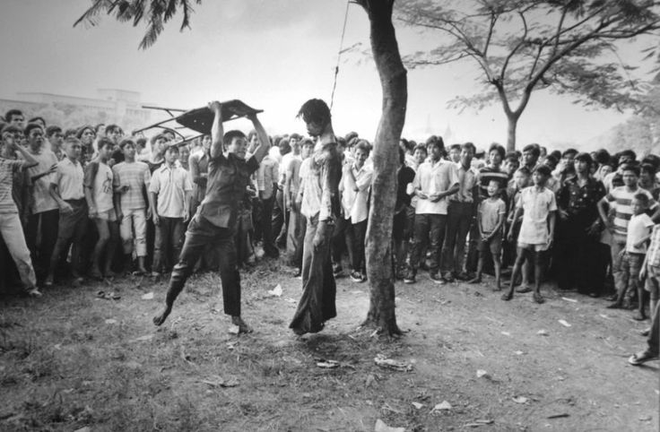 1977 - To Neal Ulevich on his photo of brutality and violence in Bangkok.