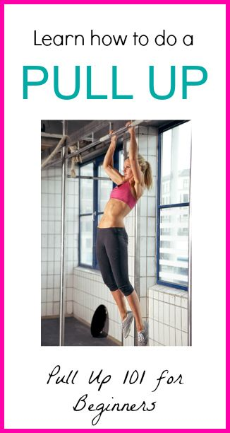 Learn how to Do a Pullup! Simple and easy to follow- will have you doing pull-ups in no time!
