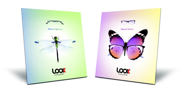 LOOK Eyewear - window display - Spring 2012