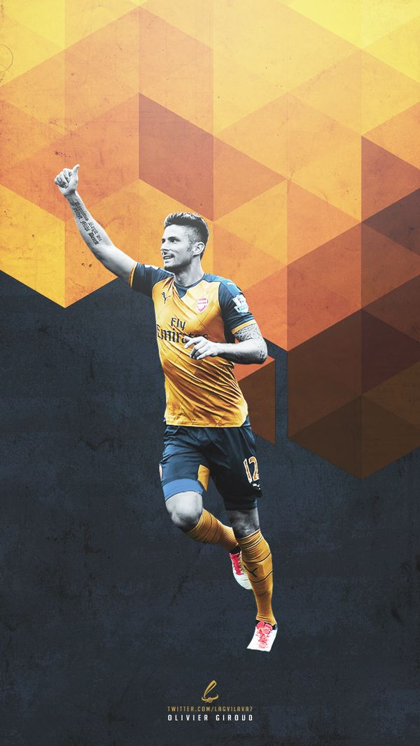 Olivier Giroud | @TheArsenal #AFC by @Lagvilava7